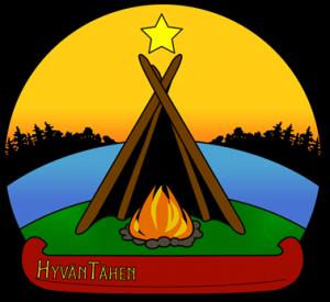 Erä- ja luontopalvelut HyvänTähen logo