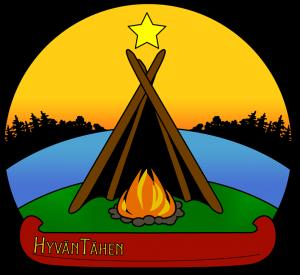 Erä- ja luontopalvelut HyvänTähen Logo.